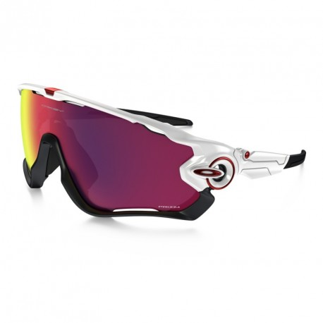 OKULARY OAKLEY® OO9290-05 JAWBREAKER POLISHED WHITE/PRIZM ROAD