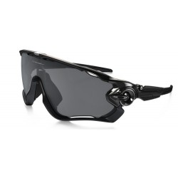 OKULARY OAKLEY® OO9290-07 JAWBREAKER POLISHED BLACK/BLACK IRIDIUM POLARIZED