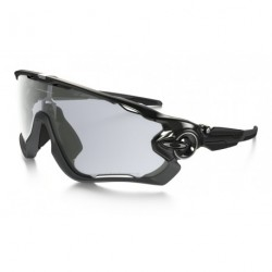 OKULARY OAKLEY® OO9290-14 JAWBREAKER POLISHED BLACK/CLEAR BLACK IRIDIUM PHOTOCHROMIC