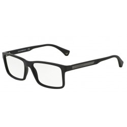 OKULARY EMPORIO ARMANI EA3038 5063 BLACK RUBBER r.56