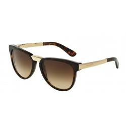 OKULARY DOLCE&GABBANA DG4257 502/13 DARK HAVANA/BROWN GRADIENT
