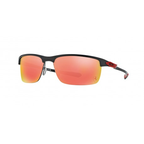 OKULARY OAKLEY® OO9174-06 CARBON BLADE POLISHED/FERRARI RED RUBY IRIDIUM POLARIZED