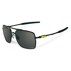OKULARY OAKLEY® OO4061-10 DEVIATION POLISHED BLACK/WARM GREY VALENTINO ROSSI (VR46)