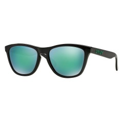 OKULARY OAKLEY® OO9013-11 FROGSKINS BLACK INK/JADE IRIDIUM POLARIZED INK
