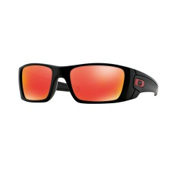 OKULARY OAKLEY® OO9096-A8 FUEL CELL MATTE BLACK/RUBY IRIDIUM FERRARI