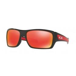 OKULARY OAKLEY OO9263-39 TURBINE POLISHED BLACK/RUBY IRIDIUM FERRARI