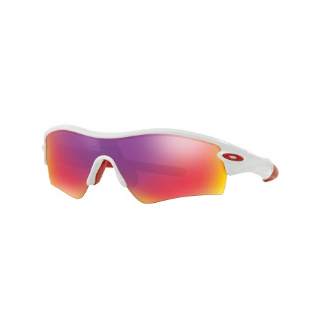 OKULARY OAKLEY® OO9051 26-212 RADAR PATH POLISHED WHITE/ OO RED IRIDIUM POLARIZED