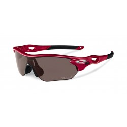 OKULARY OAKLEY® OO9183-08 RADARLOCK EDGE GROUPIE/OO GREY POLARIZED&VR28