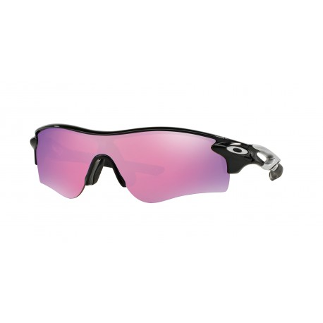 OKULARY OAKLEY® OO9181-42 RADARLOCK PATH POLISHED BLACK/PRIZM GOLF & SLATE IRIDIUM