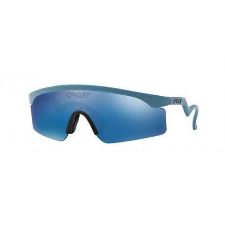 13677d83b7 OKULARY OAKLEY® OO9140-16 RAZOR BLADES BLUE ICE IRIDIUM HERITAGE ...