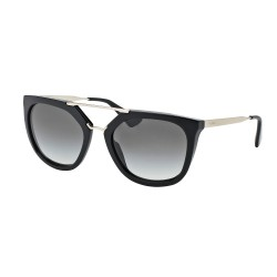 OKULARY PRADA EYEWEAR 13Q 1AB-0A7 BLACK /GREY GRADIENT CINEMA COLLECTION