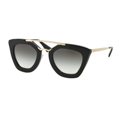 OKULARY PRADA EYEWEAR 09Q 1AB-0A7 BLACK/GREY GRADIENT CINEMA