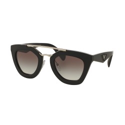 OKULARY PRADA EYEWEAR 14S 1AB-0A7 BLACK/GREY GRADIENT ORNATE