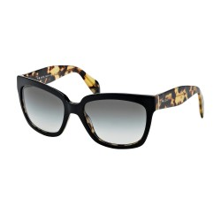 OKULARY PRADA EYEWEAR 07P NAI-0A7 BLACK MEDIUM HAVANA/GREY GRADIENT
