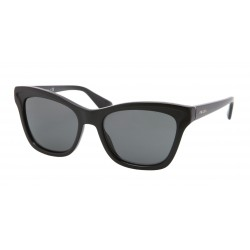OKULARY PRADA EYEWEAR 16P 1AB-1A1 BLACK/GREY