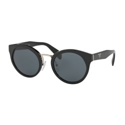 OKULARY PRADA EYEWEAR 05T 1AB-1A1 BLACK/GREY