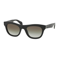 OKULARY PRADA EYEWEAR 04Q 1BO-0A7 MATTE BLACK/GREY GRADIENT