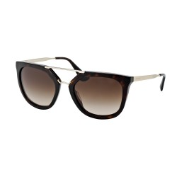 OKULARY PRADA EYEWEAR 13Q 2AU-6S1 HAVANA/BROWN GRADIENT CINEMA COLLECTION