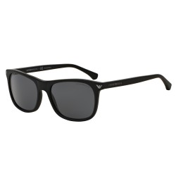OKULARY EMPORIO ARMANI EA4056 5042/81 MATTE BLACK/GREY POLARIZED
