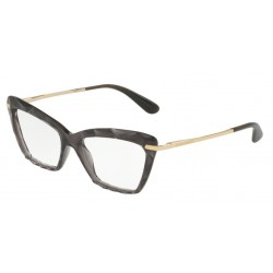 OKULARY DOLCE&GABBANA DG5025 504 TRANSPARENT GREY r.53