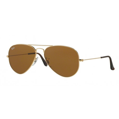 SZKŁA DO OKULARÓW RAY-BAN® RB3026 CRYSTAL BROWN AVIATOR r.62