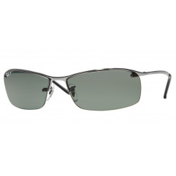OKULARY RAY-BAN® RB3183 GREEN POLARIZED r.63
