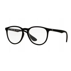OKULARY KOREKCYJNE RAY-BAN® RB7046 5364 RUBBER BLACK r.51