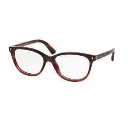 OKULARY PRADA EYEWEAR 14R TWC-101 RED HAVANA GRADIENT r.52
