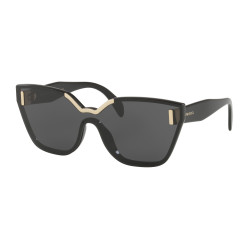 OKULARY PRADA EYEWEAR 16T 1AB-5S0 BLACK/GREY