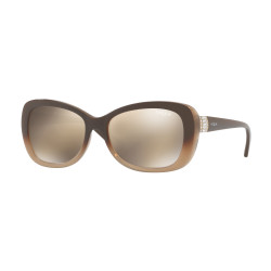 OKULARY PRZECIWSŁONECZNE VOGUE EYEWEAR VO2943 2560/5A OPAL BROWN GRADIENT BROWN/LIGHT BROWN MIRROR GOLD