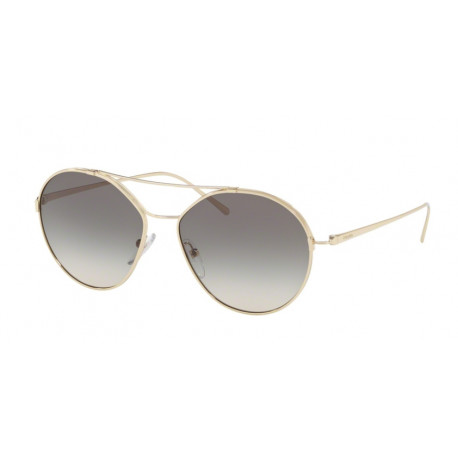 OKULARY PRADA EYEWEAR 56U ZVN-130 PALE GOLD/GREY GRADIENT