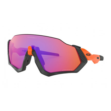 OKULARY OAKLEY® OO9401-04 FLIGHT JACKET NEON ORANGE/PRIZM TRAIL