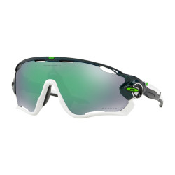 OKULARY OAKLEY® OO9290-36 JAWBREAKER METALLIC GREEN/PRIZM JADE IRIDIUM CAVENDISH