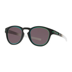 OKULARY OAKLEY® OO9265-34 LATCH MATTE BLACK FADE/PRIZM GREY JADE ALT IRIDIUM