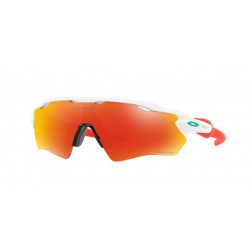 OKULARY OAKLEY® OJ9001-11 RADAR EV XS PATH POLISHED WHITE/PRIZM RUBY YOUTH