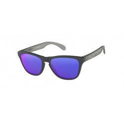 OKULARY OAKLEY® OJ9006-07 FROGSKINS XS MATTE CARBON GREY/+ RED IRIDIUM YOUTH