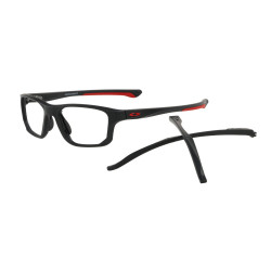 OKULARY OAKLEY® OX8136-0155 CROSSLINK FIT SATIN BLACK/REDLINE