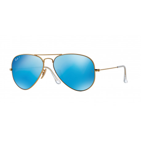 SZKŁA DO OKULARÓW RAY-BAN® RB3025 112/4L BLUE MIRROR POLARIZED AVIATOR r.58