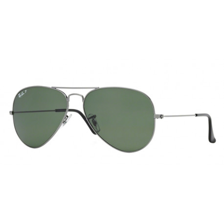 SZKŁA DO OKULARÓW RAY-BAN® RB3026 CRYSTAL GREEN POLARIZED AVIATOR r.62