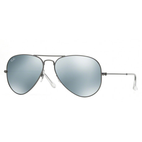SZKŁA DO OKULARÓW RAY-BAN® RB3025 CRYSTAL GREEN MIRROR AVIATOR r.58