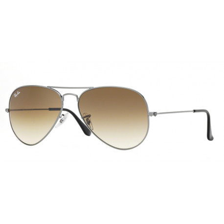 SZKŁA DO OKULARÓW RAY-BAN® RB3025 RB8307 CRYSTAL BROWN GRADIENT AVIATOR r.58