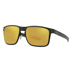 OKULARY OAKLEY® OO4123-20 HOLBROOK METAL MATTE/POLISHED BLACK /PRIZM 24K POLARIZED MIDNIGHT COLLECTION