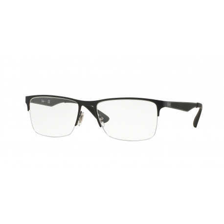 OKULARY RAY-BAN® RB6335 2503 MATTE BLACK r.56