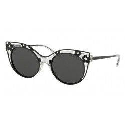 OKULARY MICHAEL KORS MK1038 305087 CRYSTAL CLEAR INJECTED/GREY SOLID
