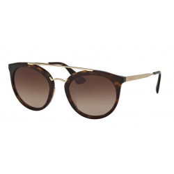 OKULARY PRADA EYEWEAR 23S 2AU-6S1 HAVANA/BROWN GRADIENT
