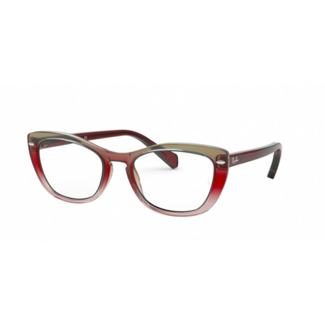 OKULARY KOREKCYJNE RAY-BAN® RB5366 5835 BTRIGRADIENT/BORDEAUX/GREY/PINK r.53