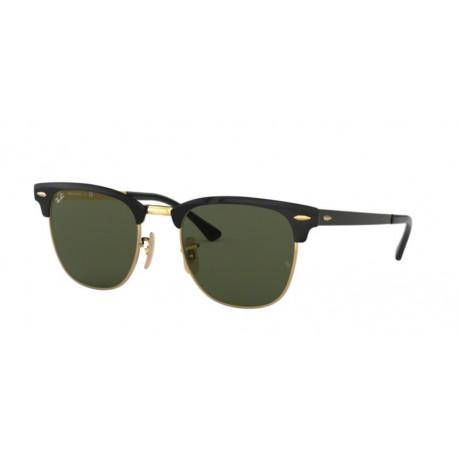 OKULARY PRZECIWSŁONECZNE RAY-BAN® RB3716 187 GOLD TOP ON BLACK/GREEN r. 51
