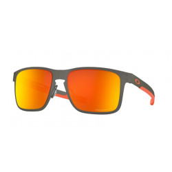 OKULARY OAKLEY® OO4123-22 HOLBROOK METAL MATTE GUNMETAL/PRIZM RUBY POLARIZED
