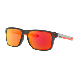 OKULARY OAKLEY® OO9384-15 HOLBROOK MIX MATTE GREY SMOKE/PRIZM RUBY