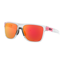 OKULARY OAKLEY® OO9360-20 CROSSRANGE XL MATTE CLEAR/PRIZM RUBY CRYSTAL POP COLLECTION